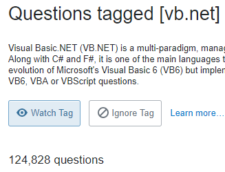 The TIOBE Index: Is Visual Basic  NET Dead? - Red Star IT